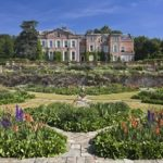 House and formal gdns by Somerset Life Photographer