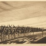 c-r-w-nevinson-column-on-the-march