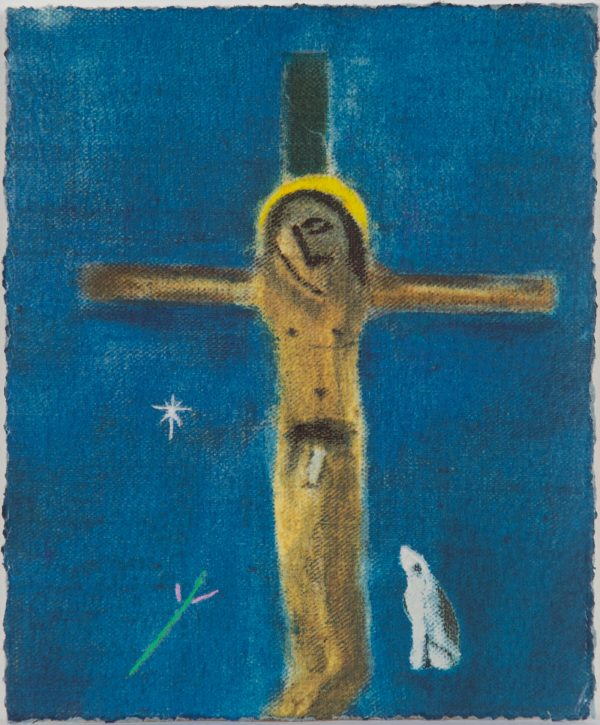 craigie-aitchison-crucifixion-and-dog