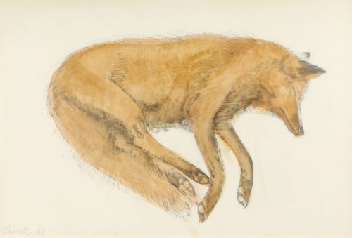 elisabeth-frink-sleeping-fox