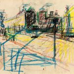 frank-auerbach-drawing-for-mornington-crescent-painting