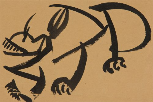 henri-gaudier-brzeska-cat-about-to-pounce