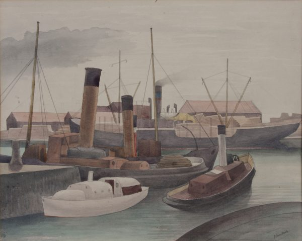 john-northcote-nash-bristol-docks