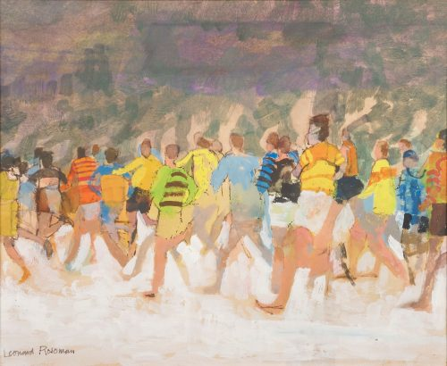 leonard-rosoman-runners-in-the-snow