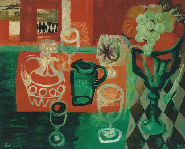 mary-fedden-orange-and-green-still-life