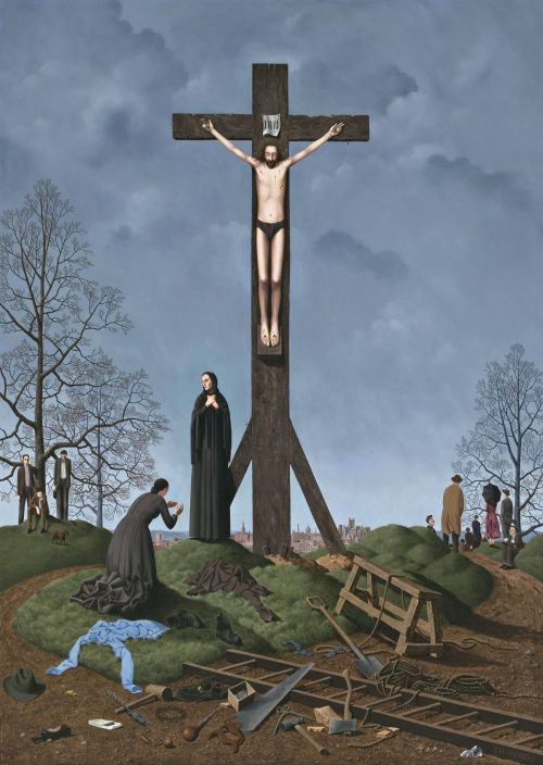 tristram-hillier-the-crucifixion