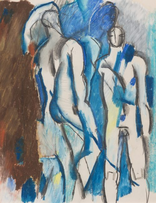 keith-vaughan-two-standing-figures-1956