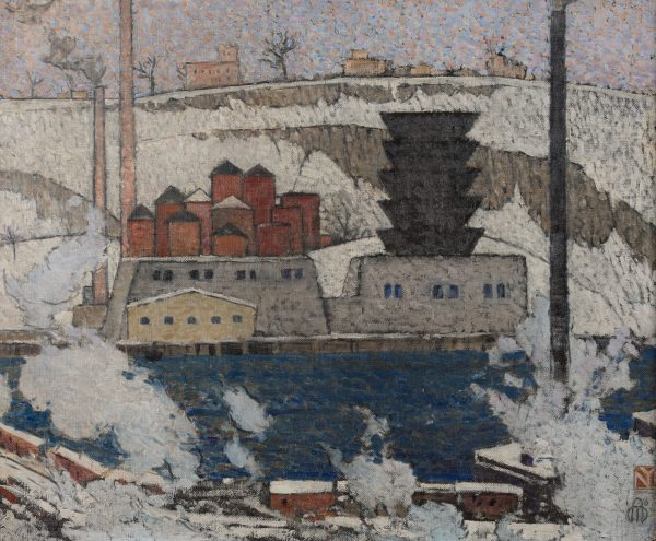 maxwell-ashby-armfield-the-ice-plant-on-the-hudson-river-new-york