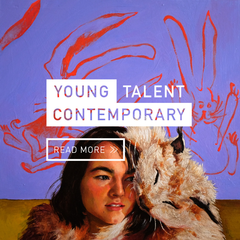 young contemporary talent mobile